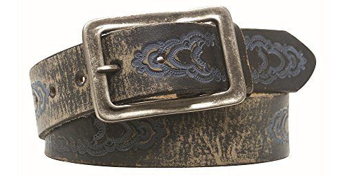 Leather Island 38mm Free Wheelin Vintage Leather Belt