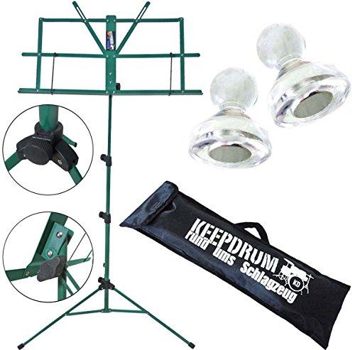 KEEPDRUM-Notenstaender-Notenpult-Grn-10-Notenpult-Magnete