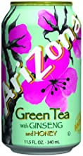 Arizona Green Tea 115-Ounce Pack of 12