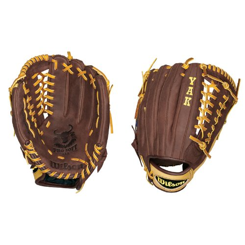 Wilson A1500 KP92 YAK Outfielder's Throw Baseball Glove (12.5-Inch)