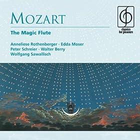 Die Zauberfl�te - Singspiel in two acts K620 (1987 Digital Remaster), Act II: Tamino! Dein standhaft m�nnliches Betragen (dialogue: Zwei Priester, Papageno, Monostatos)