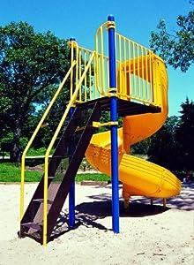 Kidstuff Playsystems 30906 3600 Spiral Slide