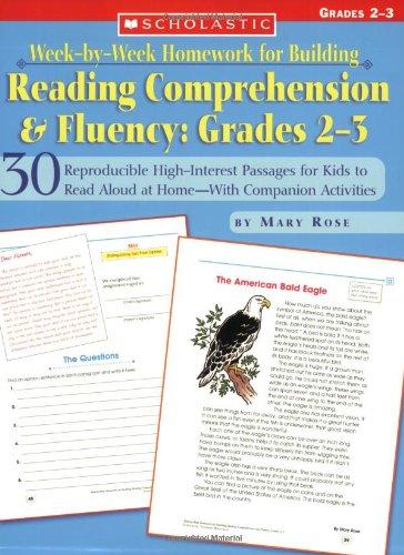 Week-by-week Homework For Bldg Reading Comp. & Fluency (Grades 2-3)