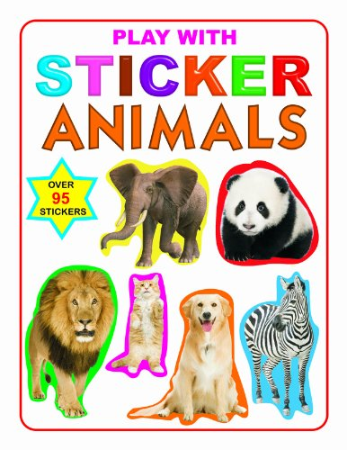 Play with Sticker - Animals (Dreamland Publications) Image
