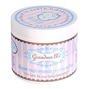 Click to buy Cloth Baby Diapers Supplies: Grandma El's Diaper Rash Remedy and Prevention from Amazon!