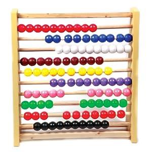 Skillofun Abacus Junior (10-10), Multi Color