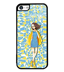 iFasho Skinny girl Back Case Cover for Apple iPhone 5C