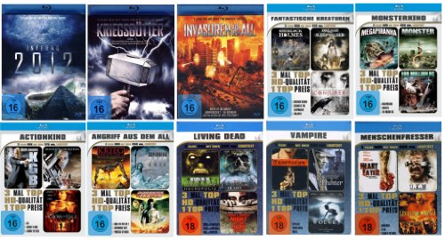 Die grosse Blu-Ray Collection mit 30 Kinohits (10 Blu-rays )