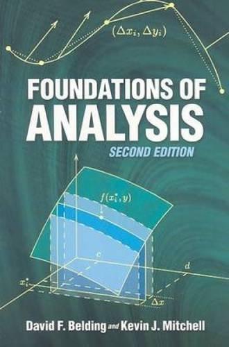 Foundations of Analysis (Dover Books on Mathematics)
