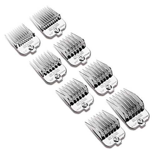 Andis-High-Quality-Plastic-Universal-Snap-On-Pet-Clipper-Comb-Set