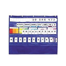 Carson-Dellosa Publishing Place Value Pocket Chart, 33 1/2w x 26 1/4h