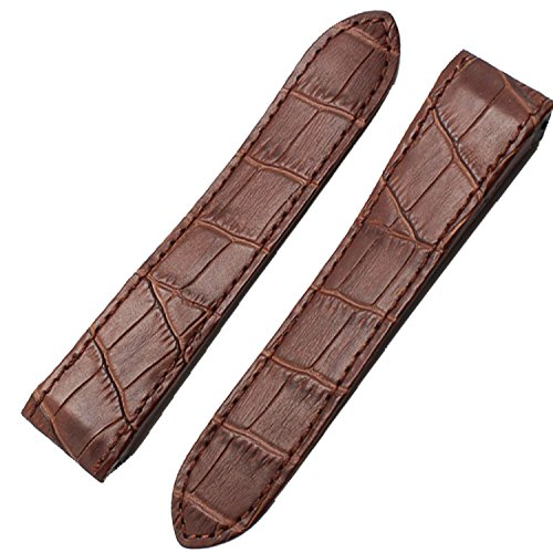 hq-23-mm-braun-leder-armbanduhr-band-band-bereitstellen-schliesse-passform-cartier-santos-100-xl-38-