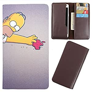 DooDa - For LG Nexus 5 PU Leather Designer Fashionable Fancy Case Cover Pouch With Card & Cash Slots & Smooth Inner Velvet