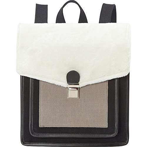 sharo-leather-bags-canvas-leather-and-wool-blend-black-grey-white-backpack