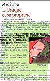 echange, troc Stirner M. - L'unique et sa propriété