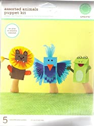 Assorted Animals Puppet Kit By Martha Stewart Create