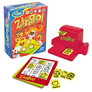 Click to read our review of ThinkFun Zingo!