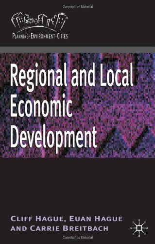 Regional and Local Economic Development (Planning, Environment, Cities)