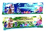 Russell Stover Marshmallow Egg Covered in Milk Chocolate and Coconut Dark Chocolate Eggs