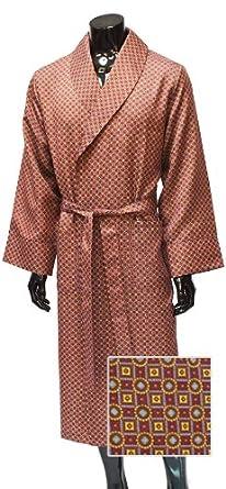 Lloyd Attree & Smith - Robe de Chambre Légère - Bordeaux Assorti - Homme (M)