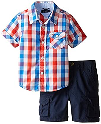Amazon Tommy Hilfiger Baby Boys Asher Yarn Dye Plaid