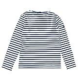 (セントジェームス)9858 MINQUIERS MODERNE SAINT JAMES長袖Tシャツ[並行輸入品]NEIGE/MARINE:S