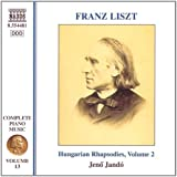 Liszt : intégrale de l'oeuvre pour piano, vol.13 - Rhapsodies hongroises, vol.2