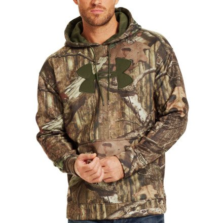 Buy Bargain Under Armour Men's Armour® Fleece Big Logo Camo Hoodie