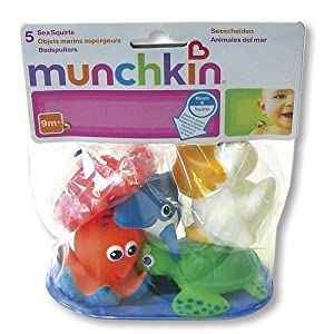 1 X Munchkin Sea Squirts (Pack of 5)