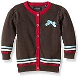 Blue Seven Mini Md Strickjacke RH-chaqueta punto Niños    Braun (Brown Anthrazit 996) 18 meses (86)