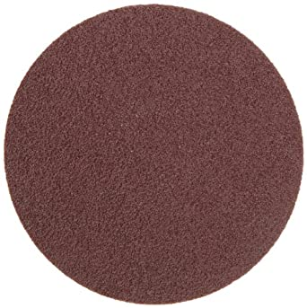 "Weiler Tiger 3"" Diameter, 60 Grit, Aluminum Oxide, Cloth Backing, Plastic Button Style Blending Disc"