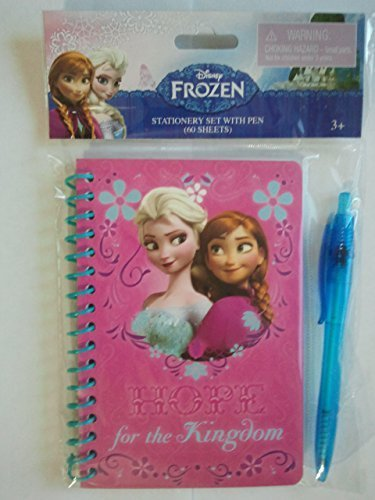 "Disney Frozen Stationery Set with Pen(60 Sheets)- ""HOPE for the Kingdom"" - 1"