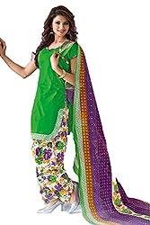Gugaliya Women's Unstiched Superior Cotton FASHION SALWAR,KAMEEZ & DUPATTA Suit ( P511 )