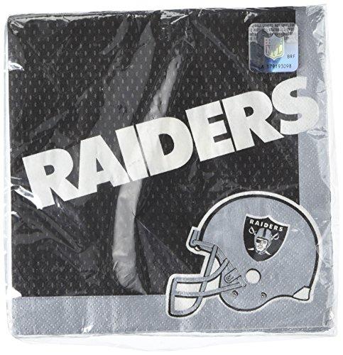 DesignWare Oakland Raiders NFL Luncheon Napkins