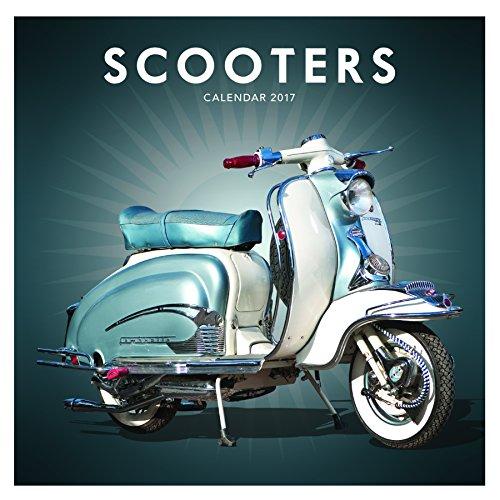 scooters-lambretta-vespa-2017-uk-square-wall-calendar-brand-new-factory-sealed