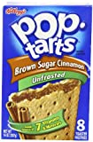 Kelloggs Pop Tarts Brown Sugar and Cinnamon 416 g (Pack of 6)