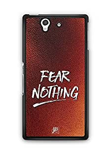 YuBingo Fear Nothing Designer Mobile Case Back Cover for Sony Xperia Z