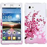MYBAT LGP880HPCIM025NP Compact and Durable Protective Cover for LG Optimus 4X HD - 1 Pack - Retail Packaging - Spring Flowers