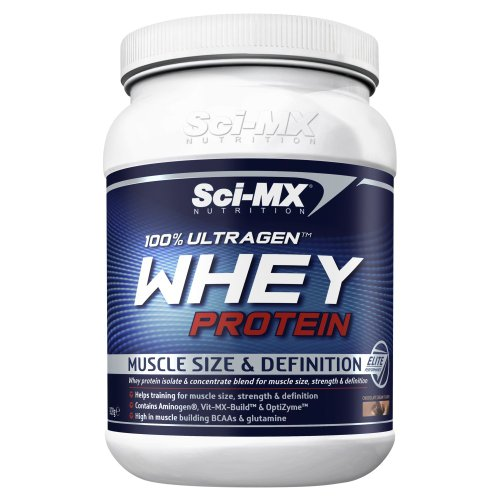 Sci-MX Nutrition 100% Ultragen 908 g Chocolate Whey Protein Shake Powder