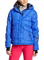 Peak Mountain Chaqueta Guateada Anecy (Azul)