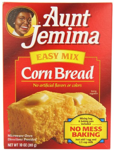 Aunt Jemima Easy Mix Corn Bread 283 g (Pack of 2)