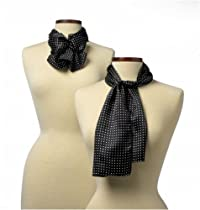 Newport Silk Scarf Rectangular - Newport/Black