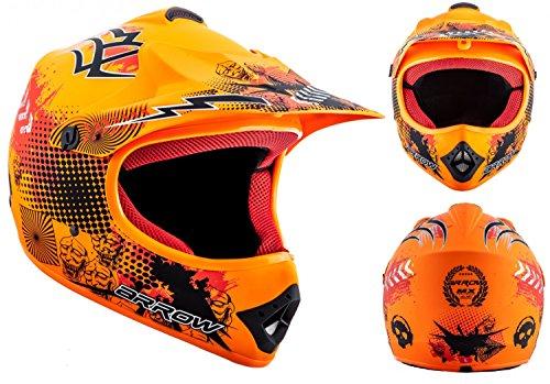 arrow-helmets-akc-49-limited-orange-moto-cross-helm-cross-helm-kinder-cross-helm-helmet-sport-junior