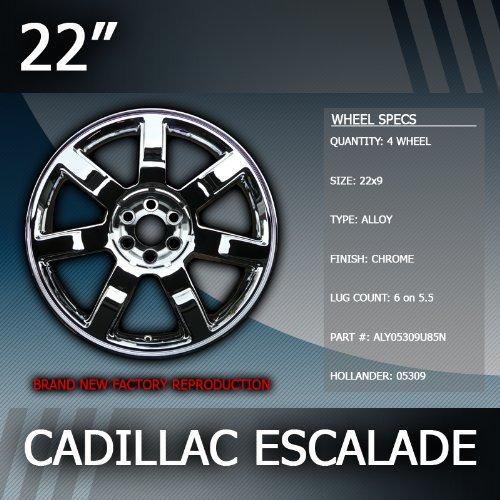 "2007-2011 Cadillac Escalade 22"" Factory Chrome Wheel Replacement"