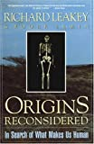 Origins Reconsidered: In Search of What Makes Us Human (0385467923) by Lewin, Roger