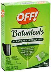 Off Botanical Towelettes, 0.984 Ounce
