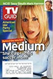 TV Guide March 27, 2005 Patricia Arquette/Medium, Mark Harmon/NCIS, John Stamos, Ian McShane/Deadwood