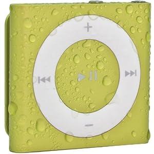 Waterfi 100% Waterproof iPod Shuffle with Dual Layer Waterproof/Shockproof Protection (Yellow)