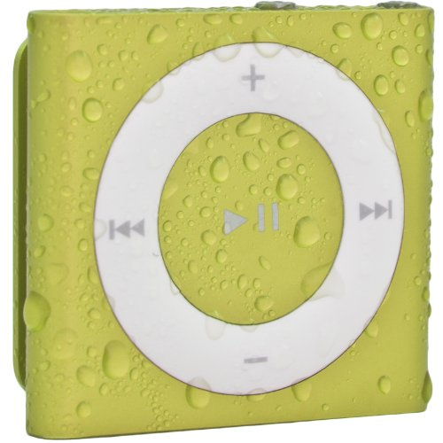 Waterfi 100% Waterproof iPod Shuffle with Dual Layer Waterproof/Shockproof Protection (Yellow)