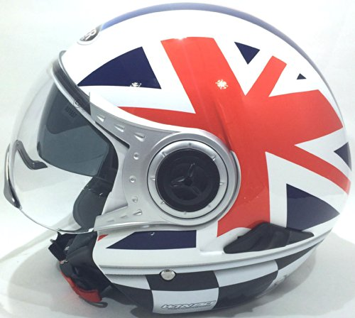 VIPER RS-V18 OPEN FACE UNION JACK MOTORCYCLE BIKE SCOOTER JET CITY HELMET M